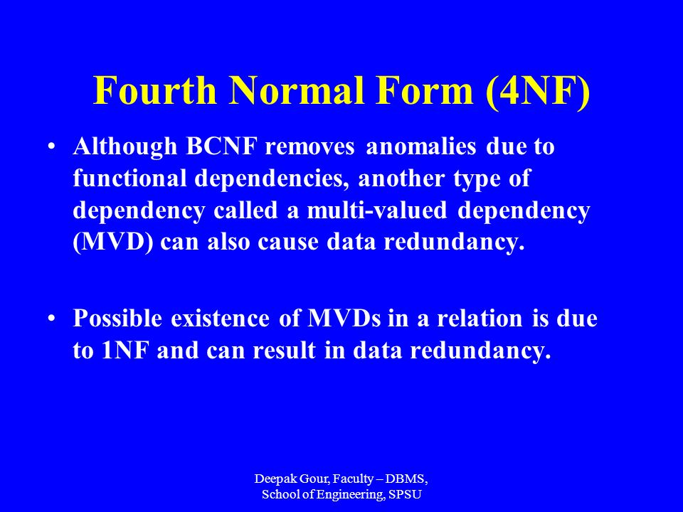 FUNCTIONAL DEPENDENCIES - ppt video online download