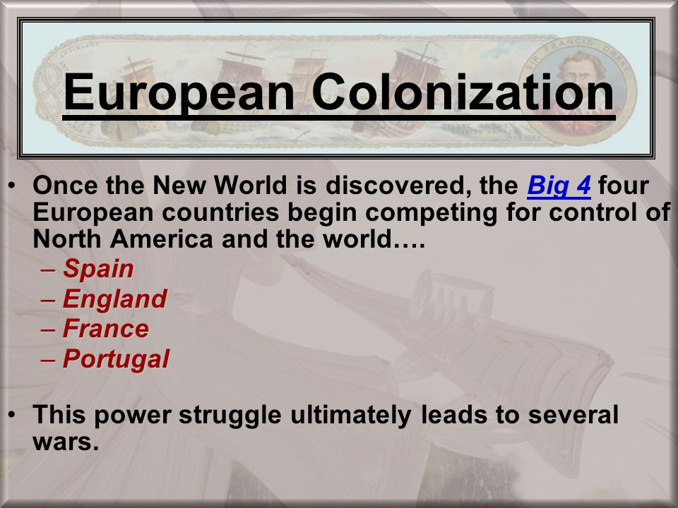 the terror and control of european colonization While the americas remained firmly under the control of native peoples in the first decades of european settlement, conflict increased as colonization spread and.
