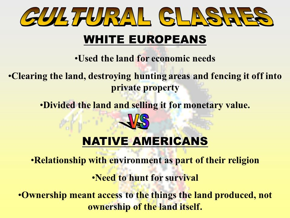 europeans and native americans relationship to the land