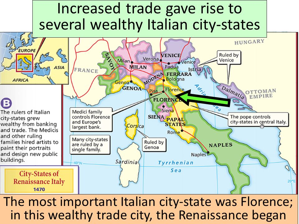 Review for the unit 6 test ppt download increased trade gave rise to several wealthy italian city states sciox Image collections