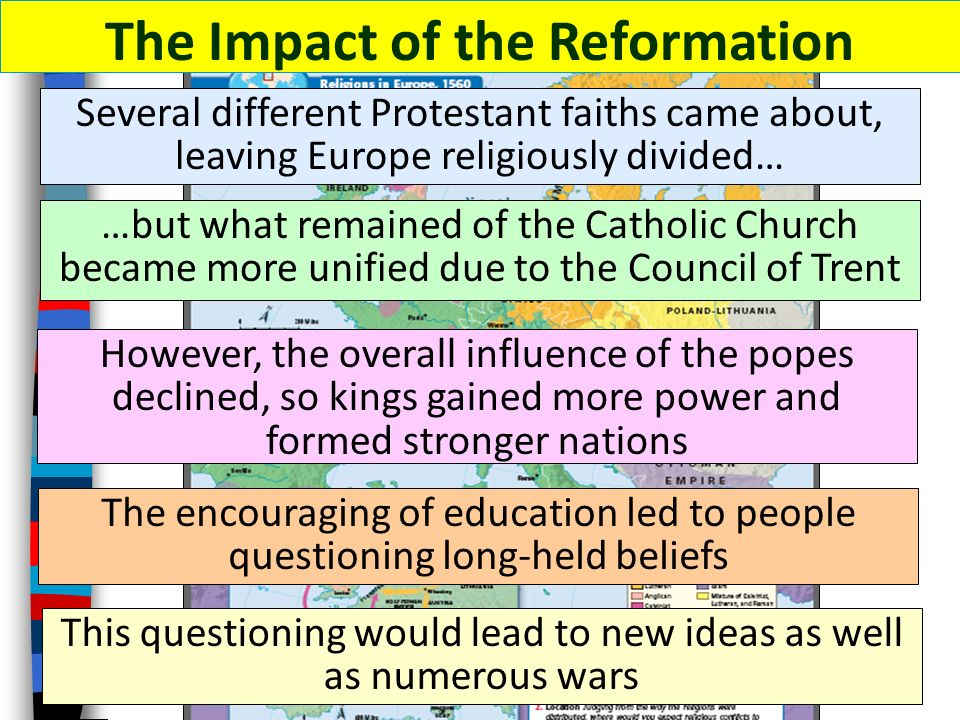 protestant reformation and christian religious authority We have seen that in the late middle ages many christian sectarians and  on  the authority of the church resulted in a complete rupture in western christianity,   his intense study of theology and his desperate search for religious truths led.