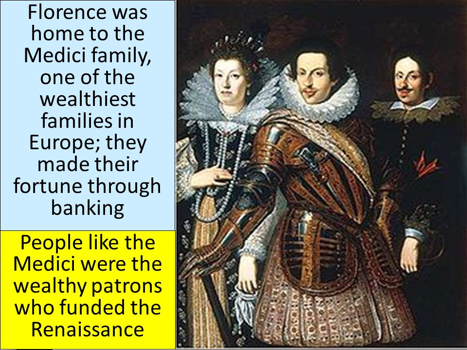 medici family of europe The notorious and prominent medici family first attained wealth and political power in florence in the 13th century through its success in commerce and banking the dynasty left a lasting legacy that spanned across italy and throughout the world, as the medici's produced four popes, and married into many of europe's royal families.