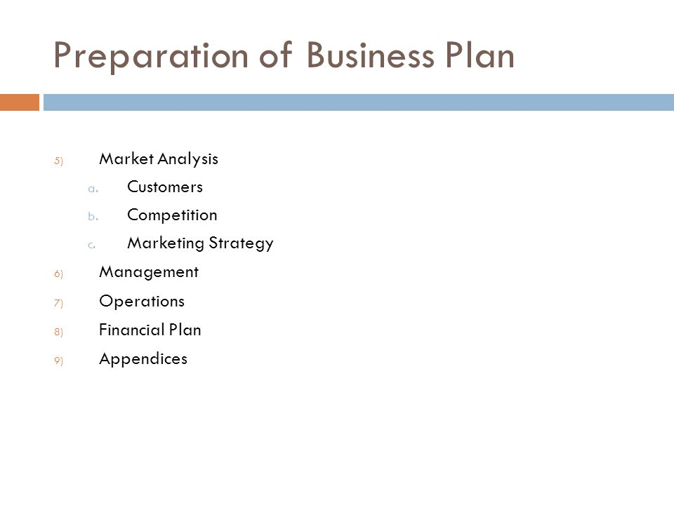 business plan financial overview for global venture