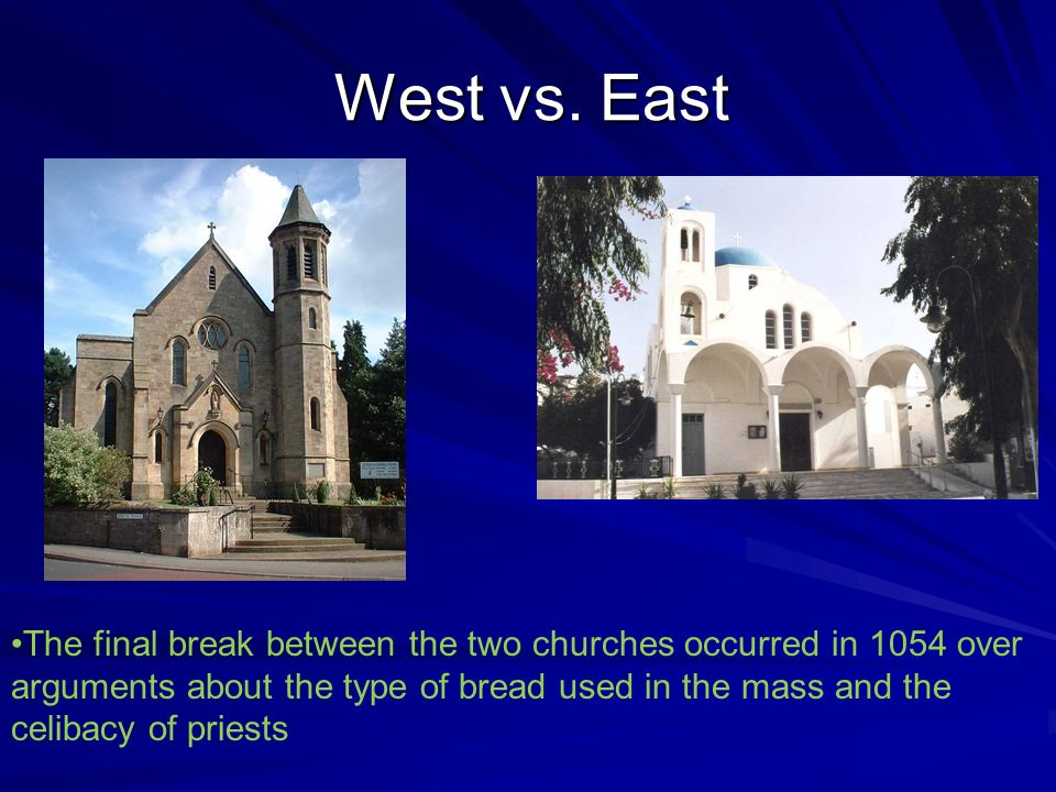 West vs. East