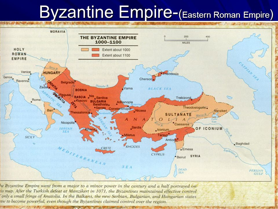 Byzantine Empire-(Eastern Roman Empire)