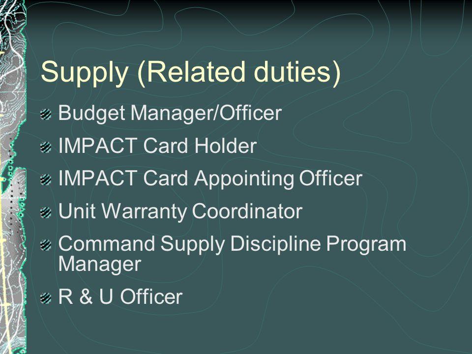 program manager duties