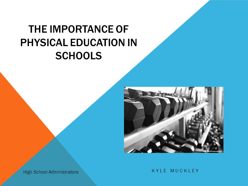the importance of physical education Physical education is very important for students when it is a part of school they  enjoy it more they become stronger and healthier the bones and muscles.