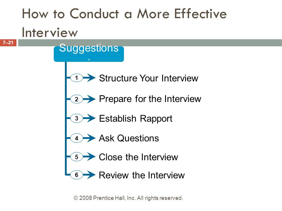 conduct interview This is a how-to on conducting an interview this is a how-to on conducting an interview.