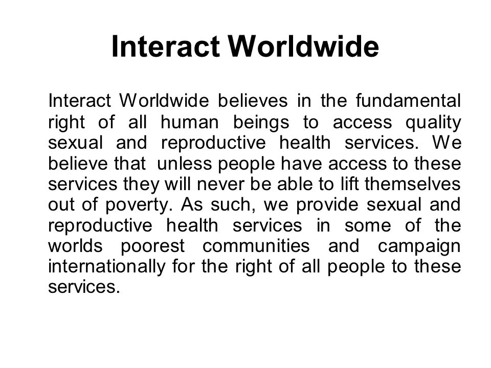 Interact Worldwide