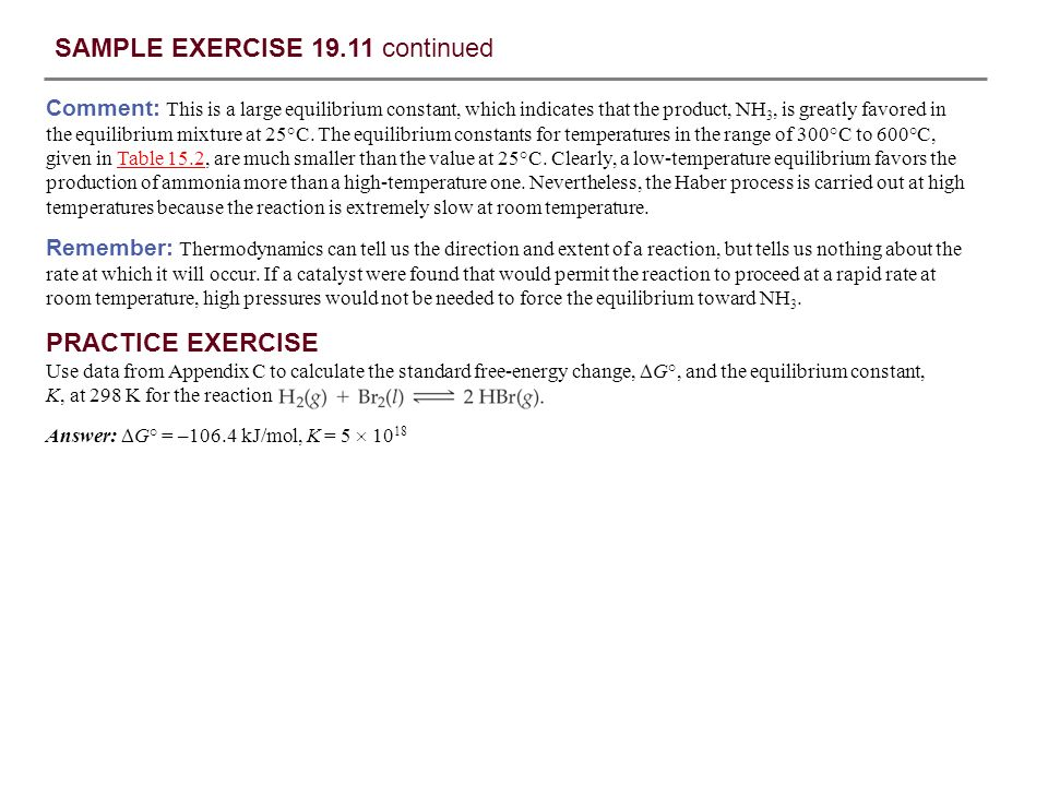 SAMPLE EXERCISE 19.1 Identifying Spontaneous Processes - ppt download