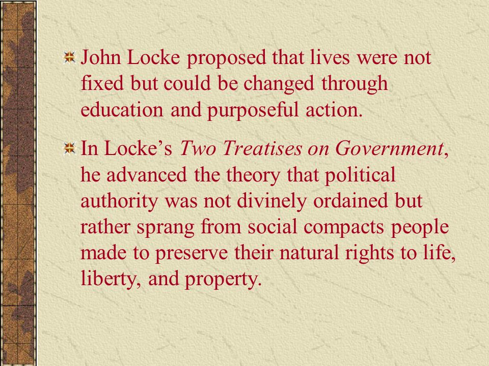 john locke on tacit and unintended John locke on tacit and unintended consent - in his second treatise on law and government, john locke outlines clear and coherent standards for what constitutes a legitimate government and.