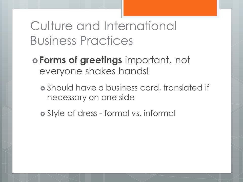 International Business Vocabulary - ppt download