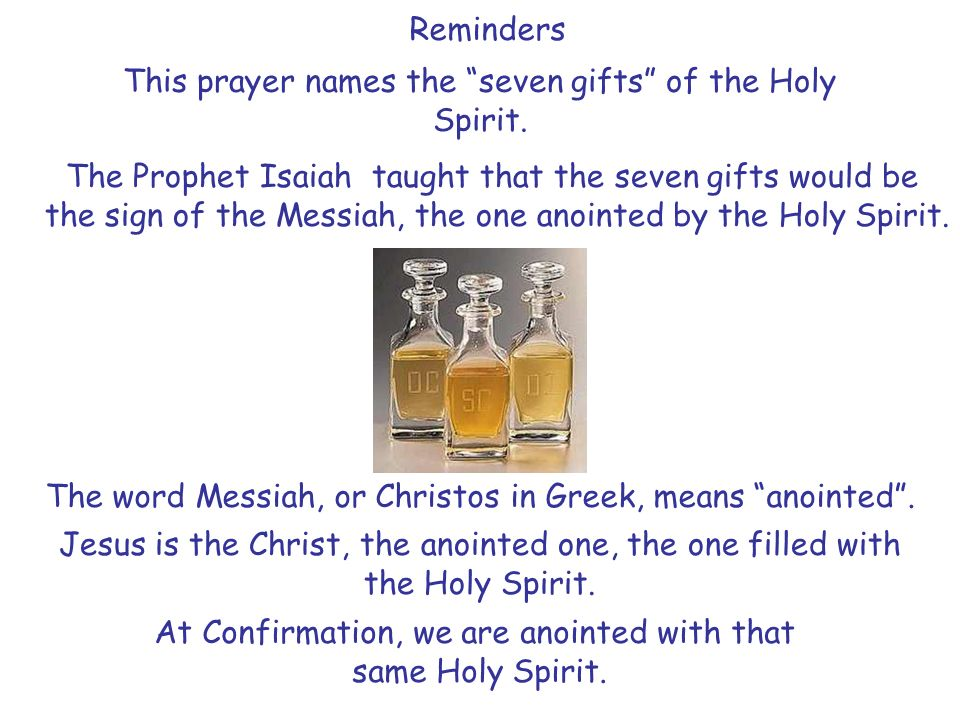 understanding the sacrament of confirmation ppt video