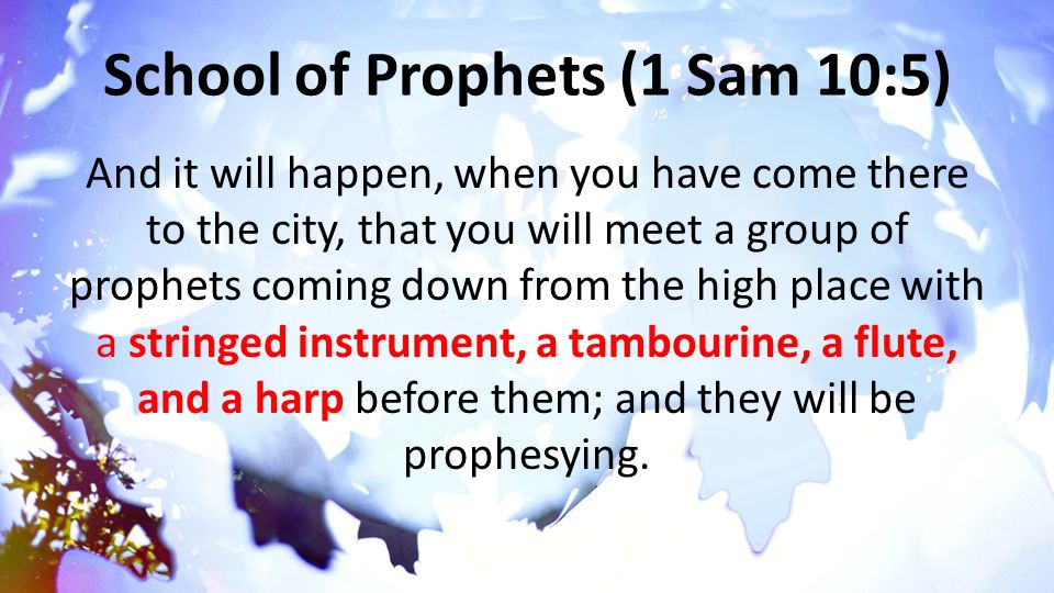 How can learn to prophesy