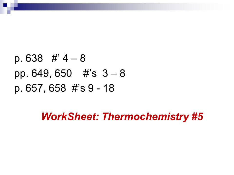 Unit 3 Thermochemistry Ppt Video Online Download