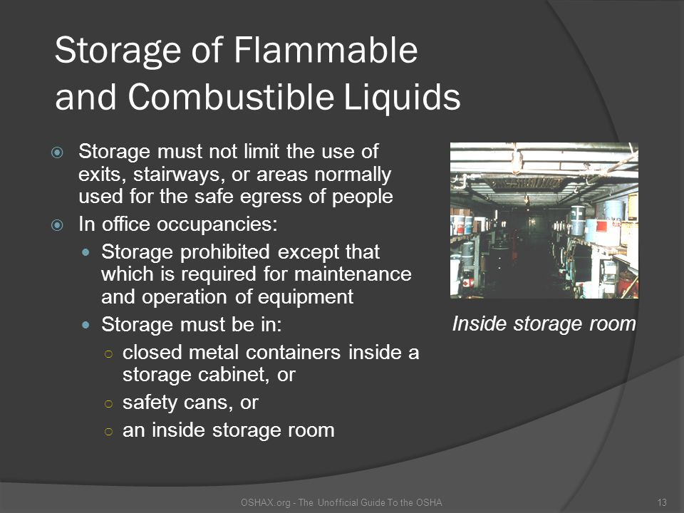 Flammable and Combustible Liquids - ppt video online download
