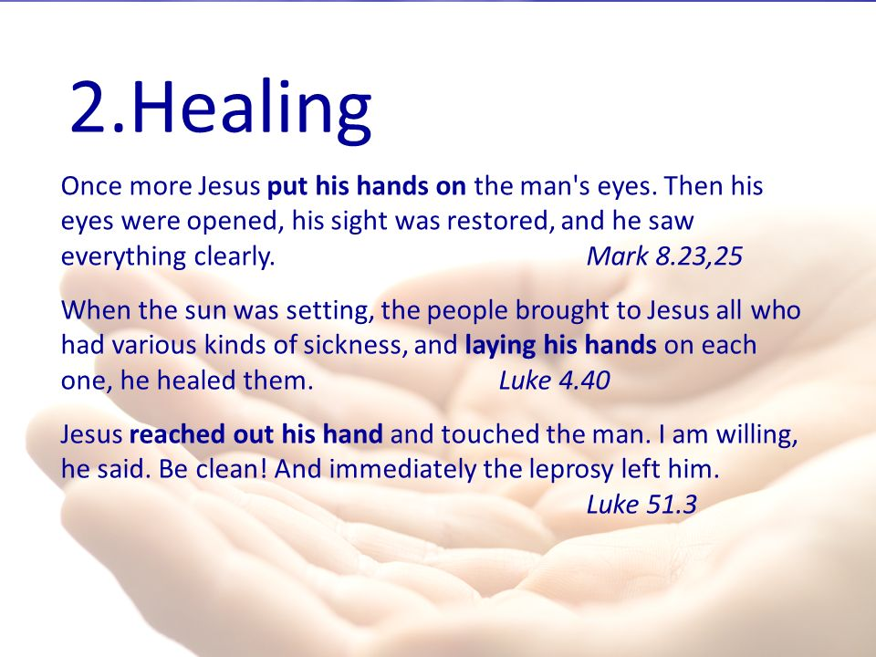 Wholeness-- The Four Types of Healing
