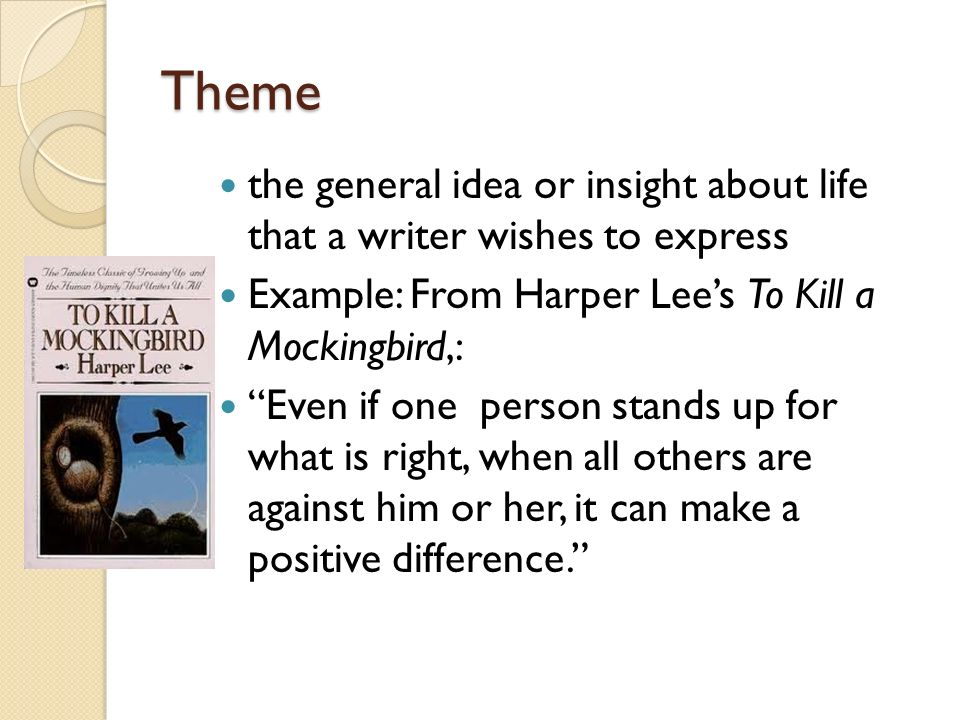 the theme of injustice in to kill a mockingbird by lee harper Racism in harper lee's to kill a mockingbird, the gale group isbn 0-7377-3904-5 murphy, mary m (ed) scout, atticus, and boo: a celebration of fifty years of to kill a mockingbird , harpercollins publishers: 2010.