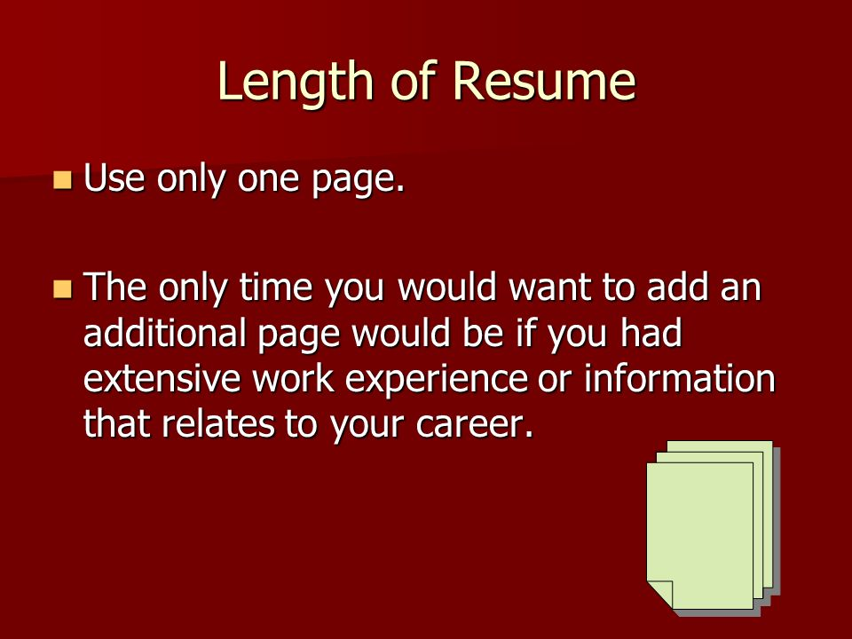 resumes why are they important