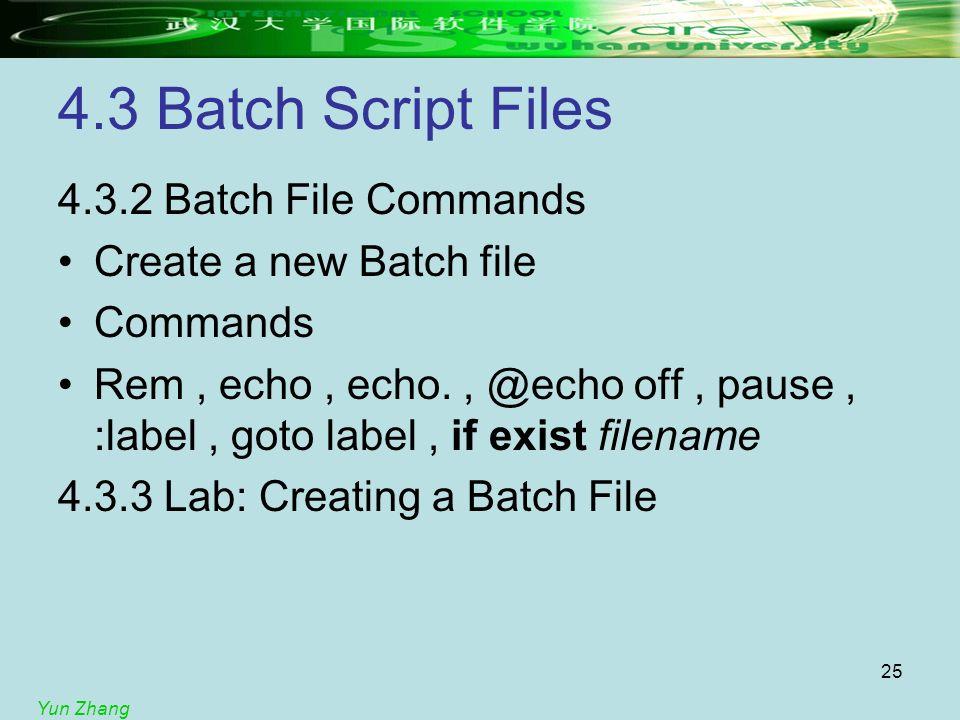 pause batch script