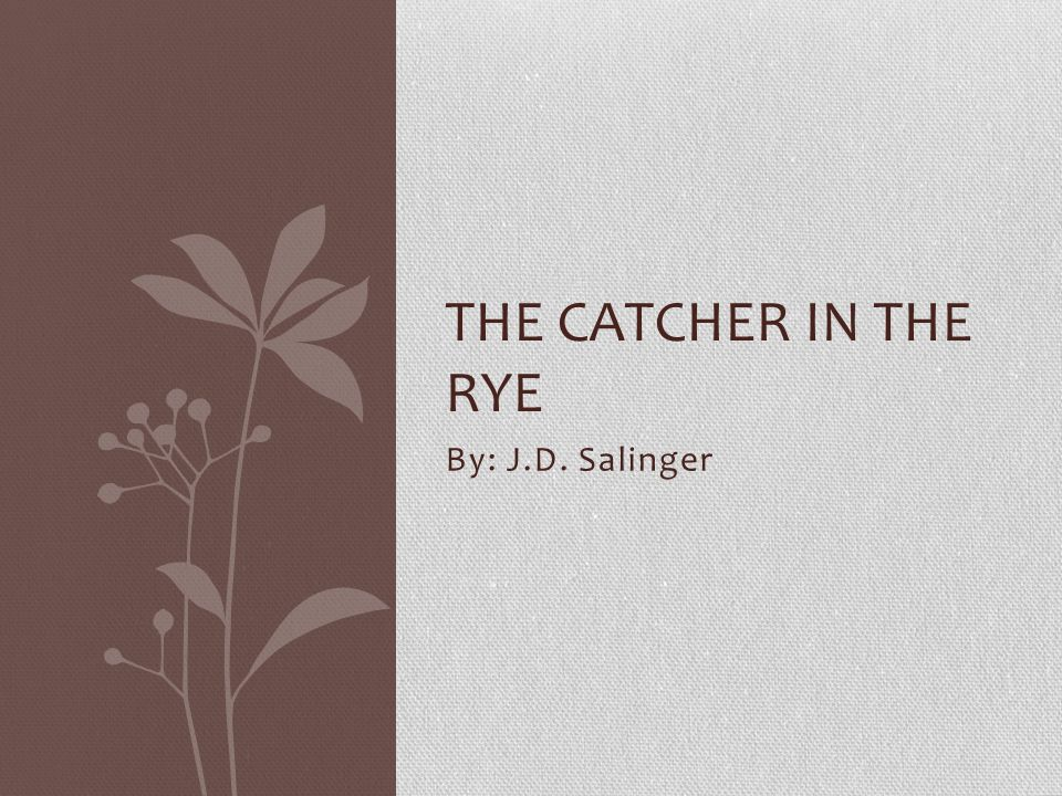950s in j d salingers the catcher in the rye In 1951 jd salinger published the catcher in the rye, a debut novel that  became one of the best known works in american literature.