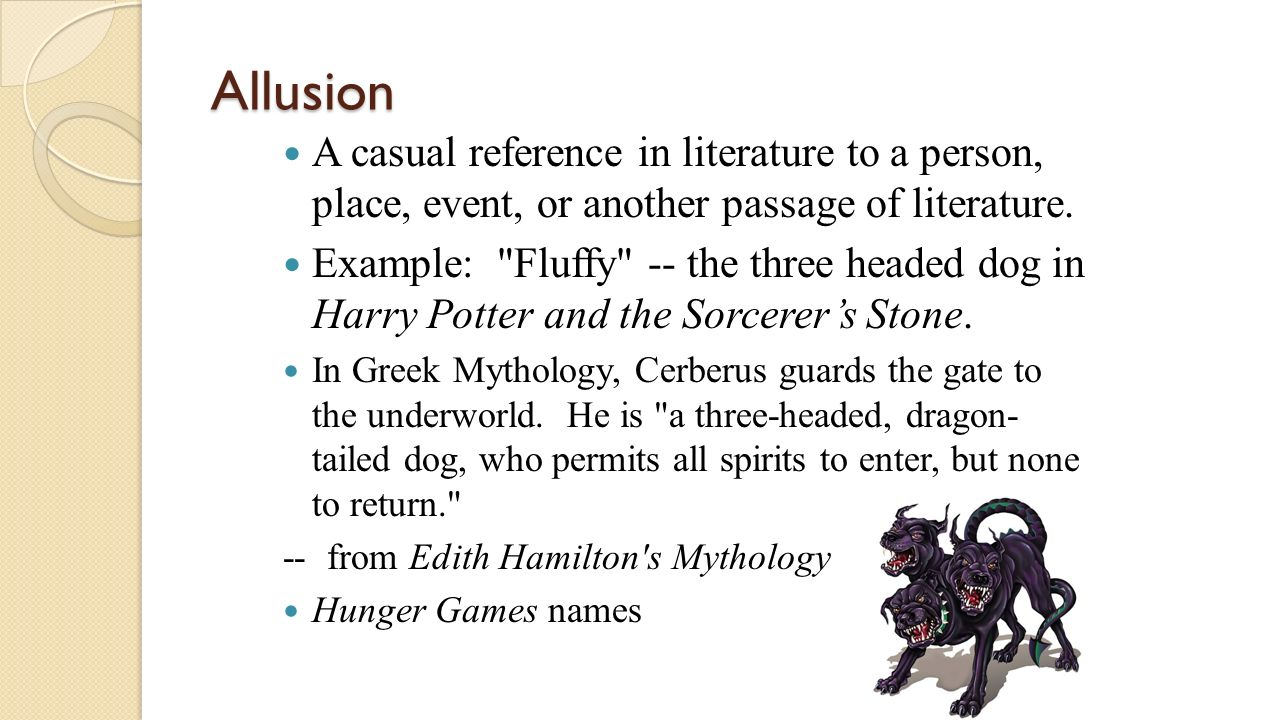 Allusion Examples And Definition Literary Devices 8914500