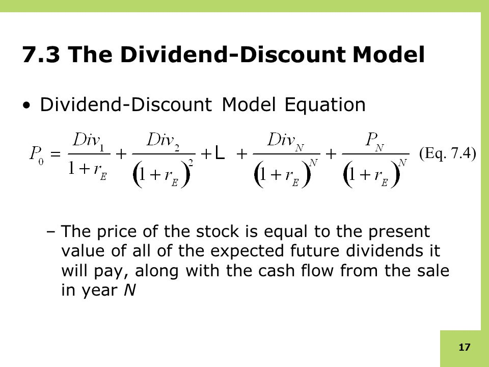 dividend discount model and price earning model Dividend discount model definition our online dividend discount model calculator is a free financial calculator that makes it a snap to learn how to calculate the worth of a stock based on the dividend discount model.