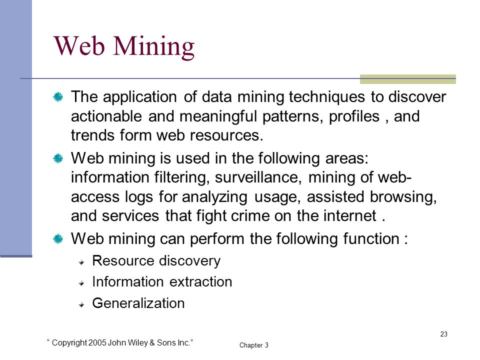 Web mining applications and techniques pdf