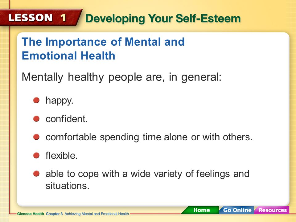 The Importance of Mental and Emotional Health