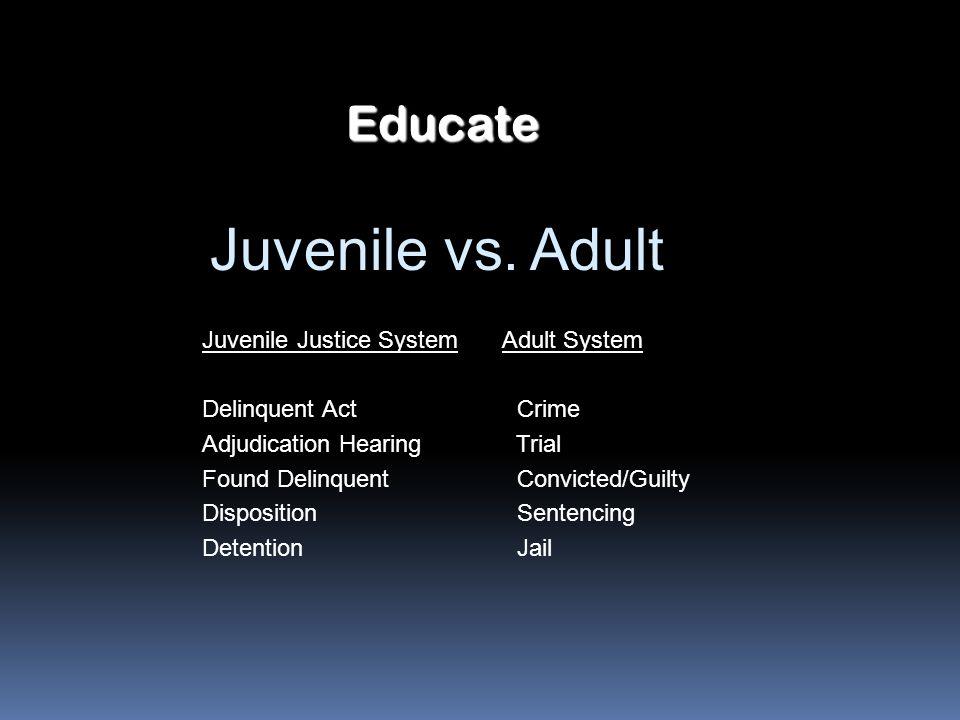 juvenile adjudication essay This sample juvenile courts research paper is published for educational and this sample research paper on juvenile courts d adjudication e.