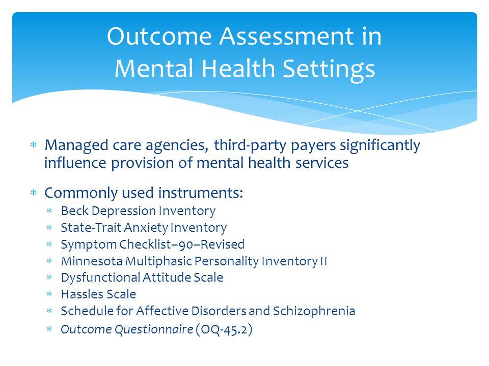 mental health symptom checklist pdf