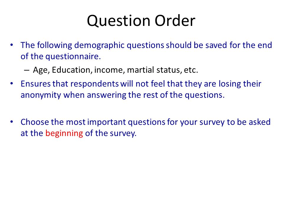 Demographic Survey Template  Resume Ideas  NamanasaCom