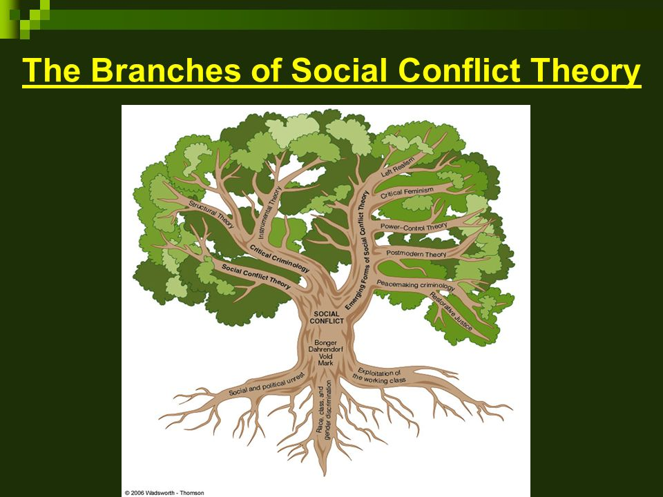 the social conflict theory You learned in the previous module that conflict theory looks at society as a   karl marx (1818–1883) is certainly among the most significant social thinkers in.