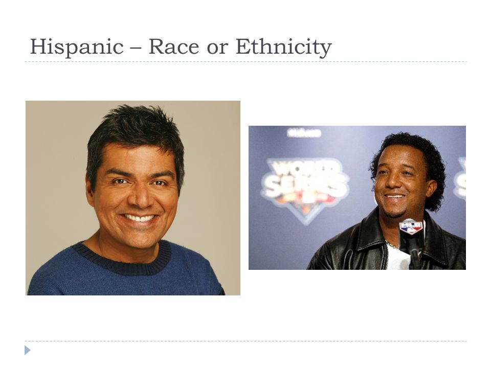 Hispanic – Race or Ethnicity