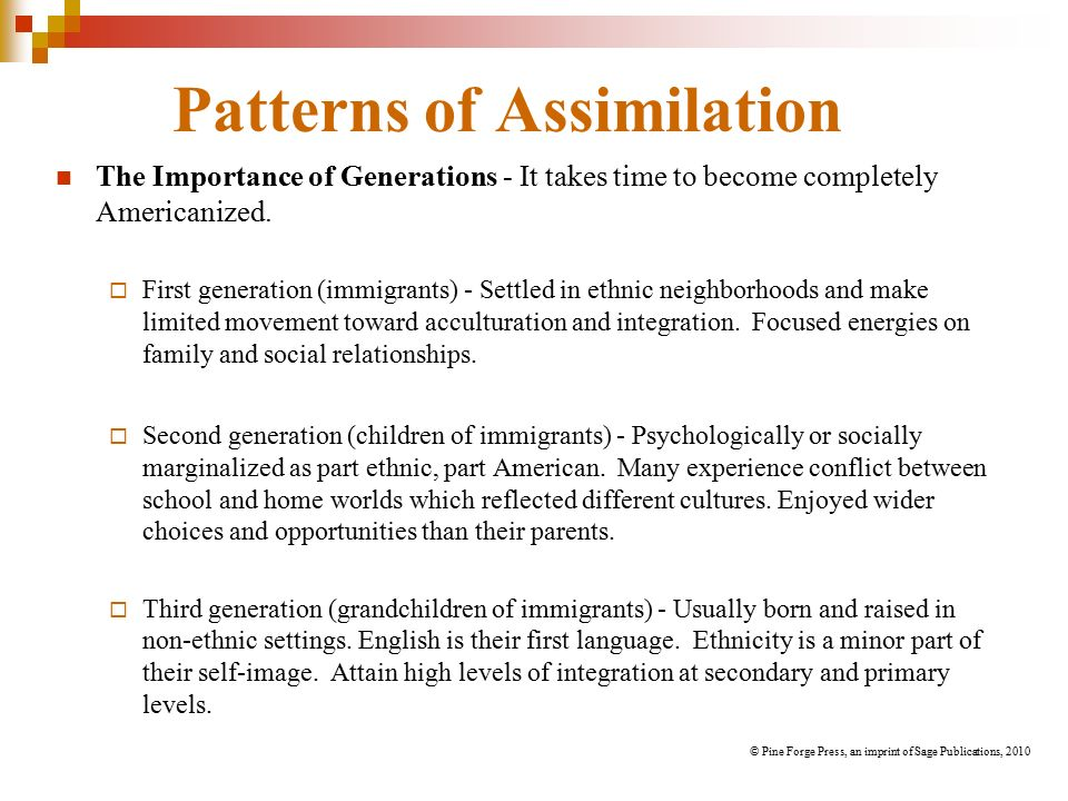 the assimilation of generation 15 in american society Title the korean american family: assimilation and its toll on the first and second generation relationship pub date [96] note over the last 15 years researchers have taken an adapt in order to meet the demands of mainstream american society coupled with the pressure of their.