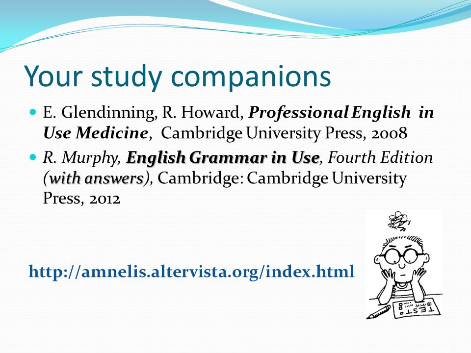 English to Speakers of Other Languages Study Companion