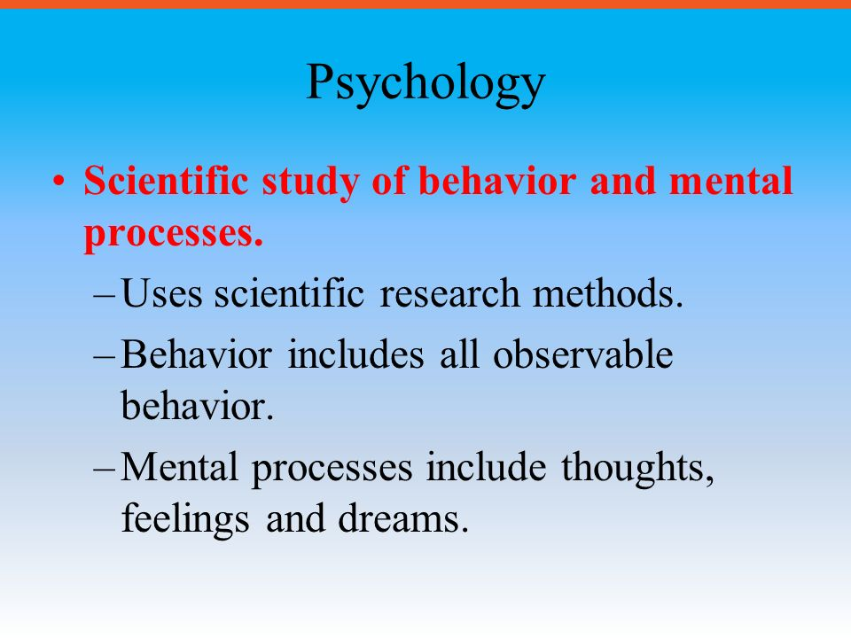 Psychology Perspectives