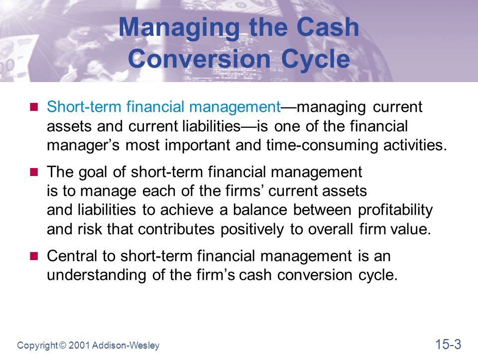 goals of cash management for a Budgeting and cash management are two areas of financial management  give staff goals to reach and steps to  financial management of not-for-profit.