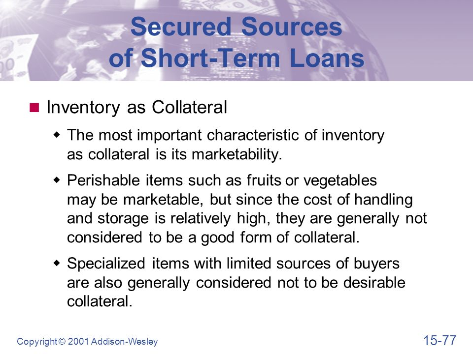 Learning Goals Describe the scope of short-term financial ...