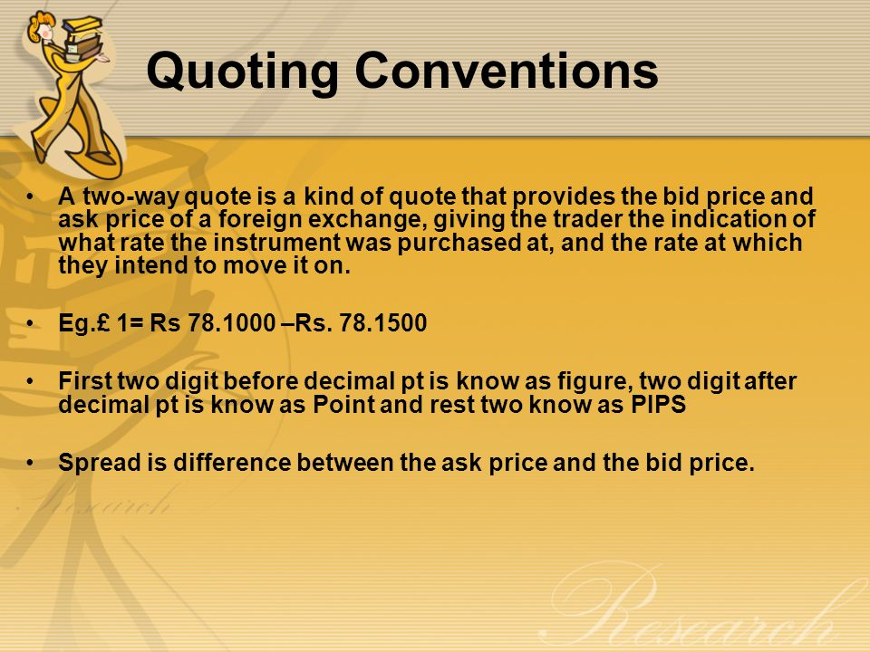 Forex quote convention