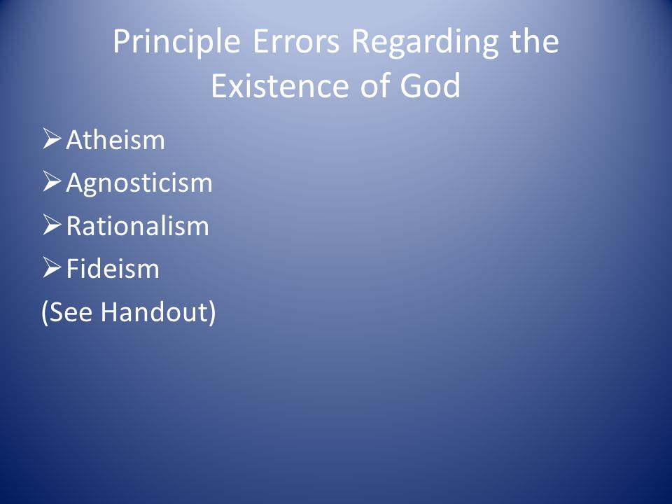 proving the existence of god through science and philosophy Here are some of the most fascinating and provocative philosophical arguments for the existence of god  philosophy goes where hard science can't, or won't  consciousness proves that.