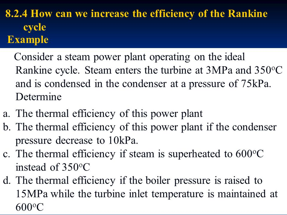 how to improve the thermal efficiency of diesel power plant Energy efficiency in ippc installations  the achievable improvement of thermal efficiency depends on the specific plant, but as  gas turbine.