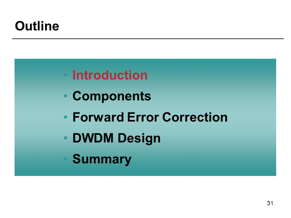 types of forward error correction Detection and correction is possible based on maximum likelihood decoding qhamming distance of two codewords: number of non-zero elements in the codeword formed by their difference.