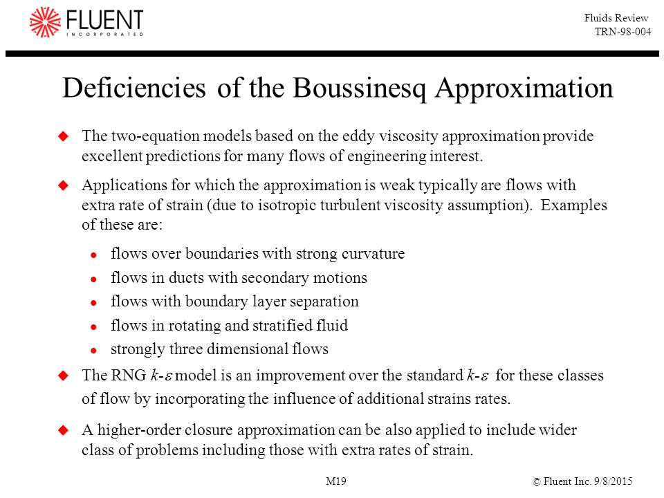 Deficiencies of the Boussinesq Approximation