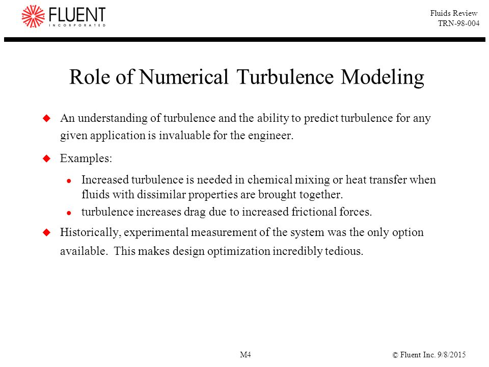 Role of Numerical Turbulence Modeling