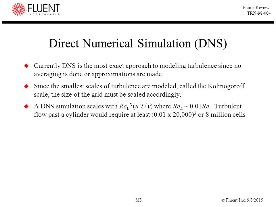 Direct Numerical Simulation (DNS)