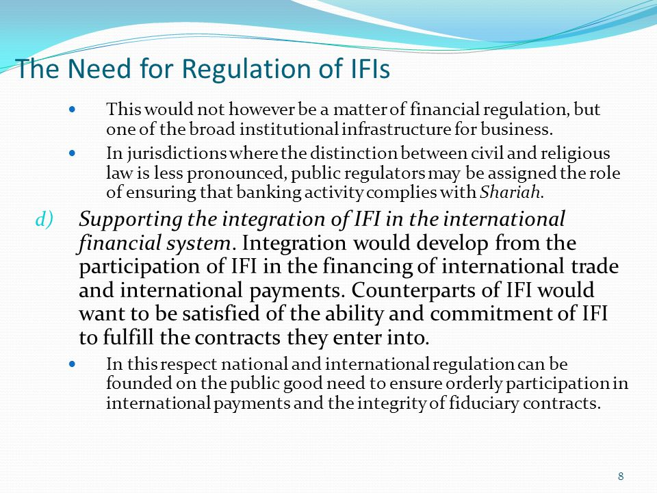 Ifis trading system