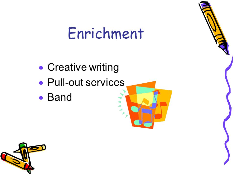 Creative writing service