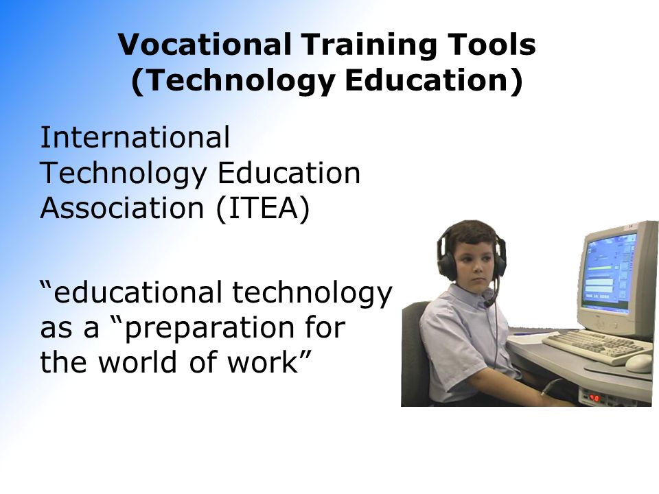 Vocational Training Tools (Technology Education)