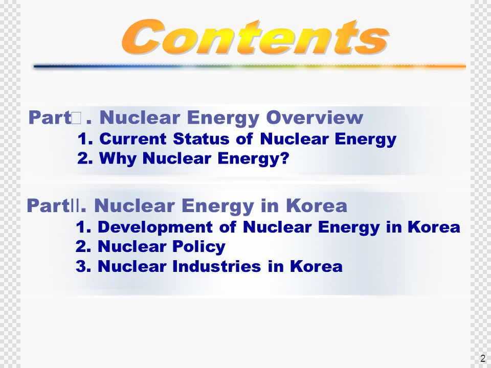 The development of energy a brief